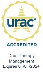 URAC Accredited Drug Therapy Management Seal